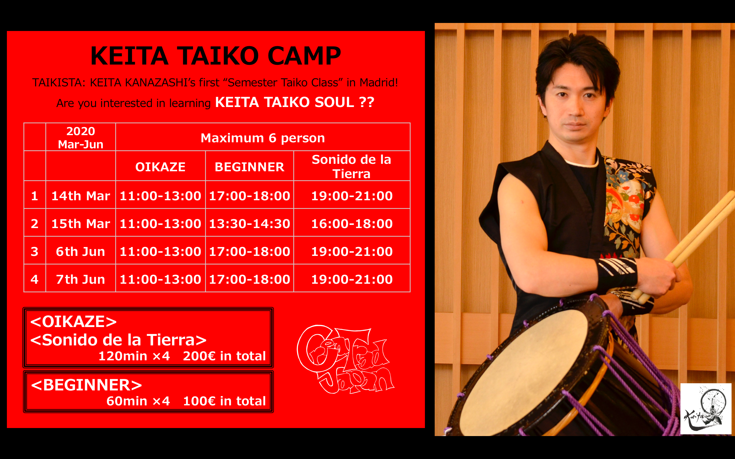 KEITA TAIKO CAMP 1
